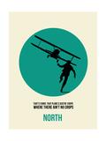 North Poster 1 Posters af Anna Malkin