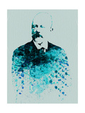 Tchaikovsky Watercolor Print by Anna Malkin