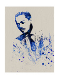 Billy Eckstine Watercolor Prints by Anna Malkin