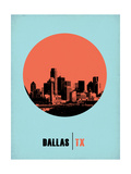 Dallas Circle Poster 1 Prints by  NaxArt