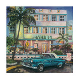 Avalon Hotel, Miami Giclee Print by Melissa Sturgeon