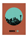 Denver Circle Poster 1 Prints by  NaxArt