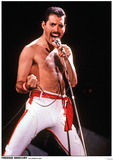 Queen - Freddie Mercury - Poster