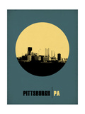 Pittsburgh Circle Poster 1 Art by  NaxArt