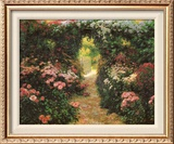 Welcome to My Garden Prints by Greg Singley