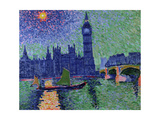Big Ben, London, C.1906 Giclee Print by Andre Derain