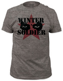 Captain America: The Winter Soldier - Cold Stare (slim fit) Shirts