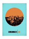 Cincinnati Circle Poster 1 Posters by  NaxArt