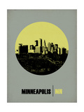 Minneapolis Circle Poster 2 Art by  NaxArt