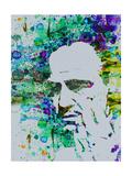 Anna Malkin - Godfather Watercolor - Sanat