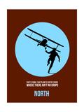 North Poster 2 Giclee-tryk i høj kvalitet af Anna Malkin