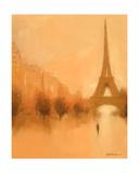 Stranger In Paris Lærredstryk på blindramme af Jon Barker