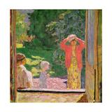 In Front of the Window, 1918 Giclée-Druck von Pierre Bonnard