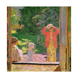 In Front of the Window, 1918 Giclee Print by Pierre Bonnard