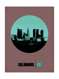 Columbus Circle Poster 2 Art by  NaxArt