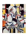 Mechanical Elements, 1918-23 Gicléetryck av Fernand Leger