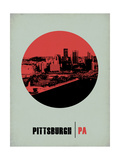 Pittsburgh Circle Poster 2 Posters by  NaxArt