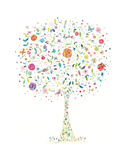 Enchanted Tree Giclee Print by Kim Anderson
