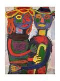 Honeymoon, 1943 Giclée-trykk av Jean Dubuffet
