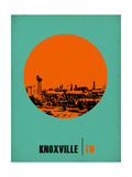 Knoxville Circle Poster 1 Prints by  NaxArt