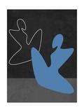 Blue Girl Kunstdrucke von Felix Podgurski