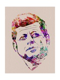 Kennedy Watercolor Plakater af Anna Malkin