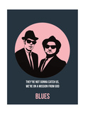 Blues Poster 1 Prints by Anna Malkin