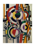 Discs, 1918 Giclee Print by Fernand Leger