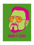 Mark it Zero Poster 2 Kunstdrucke von Anna Malkin