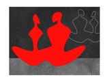 Red Couple 1 Poster von Felix Podgurski