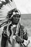 Native Americans Headdress Poster Photo