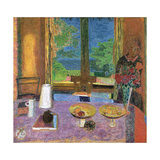 Dining Room on the Garden, 1934-35 Giclee Print by Pierre Bonnard