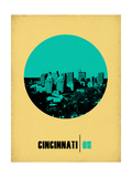 Cincinnati Circle Poster 2 Prints by  NaxArt