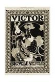 Victor Bicycles Advertisement Gicléedruk van William H. Bradley
