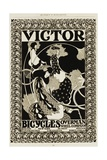 Victor Bicycles Advertisement Giclee Print by William H. Bradley