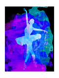 White Ballerina Watercolor Posters by Irina March