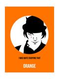 Orange Poster 2 Poster von Anna Malkin