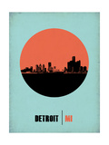 Detroit Circle Poster 2 Prints by  NaxArt