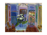 Interior with Open Windows, 1928 Giclee Print by Raoul Dufy
