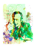 Saul Watercolor Plakater af Anna Malkin