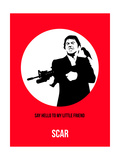 Scar Poster 2 Posters by Anna Malkin