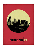 Philadelphia Circle Poster 2 Poster by  NaxArt
