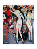 Dancing Scene with Female Nudes, C.1914 Giclee Print by Kees van Dongen