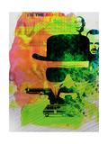 Heisenberg Watercolor Giclee-tryk i høj kvalitet af Anna Malkin
