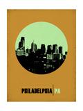 Philadelphia Circle Poster 1 Prints by  NaxArt