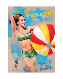 Pin-Up Parade Giclee Print by James Paterson