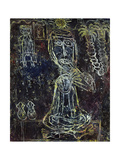He Took His Sandals Off Giclée-trykk av Jean Dubuffet