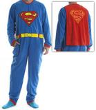 Superman - Union Suit Adult Onesie with Cape T-Shirt