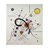 Grey Square, 1923 Giclée-trykk av Wassily Kandinsky