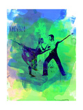 Romantic Ballet Watercolor 1 Posters by Irina March